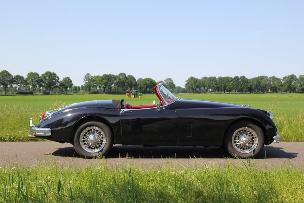 Jaguar XK150 3.4S Roadster, 1958