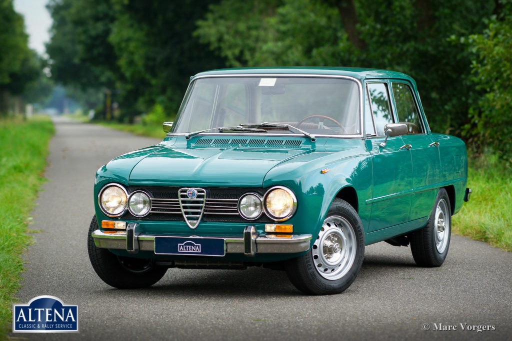 alfa romeo giulia 1973 altena classic service. Black Bedroom Furniture Sets. Home Design Ideas
