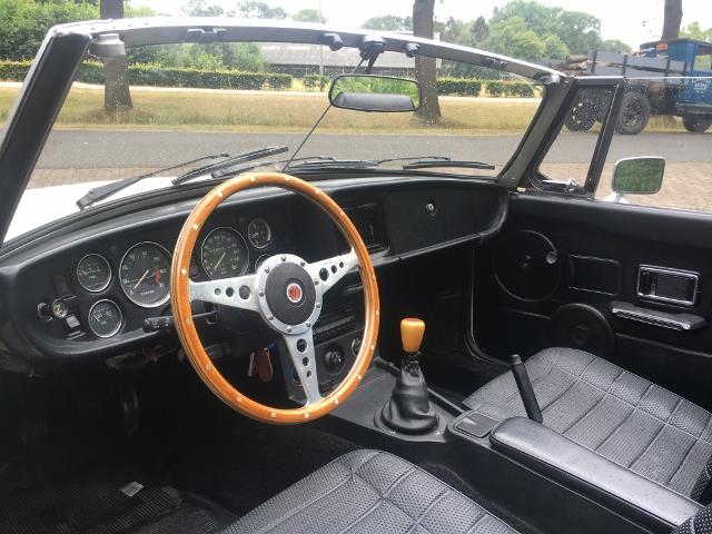 MG B Roadster, 1979
