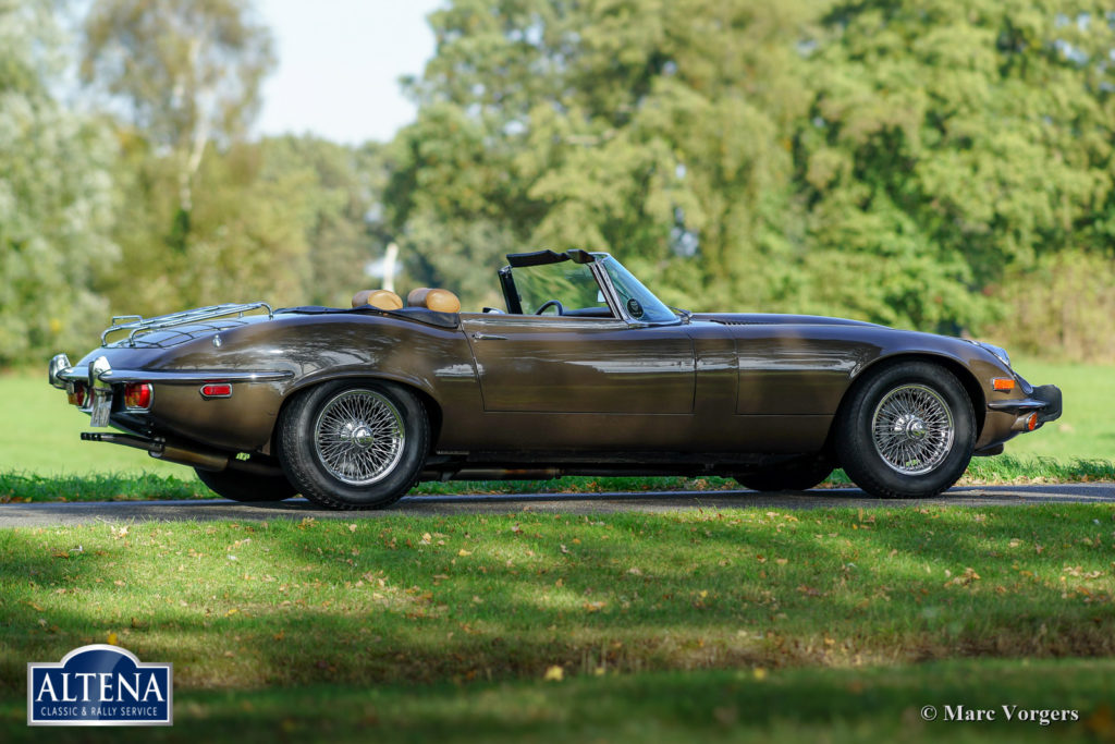 Jaguar E type V12, 1973
