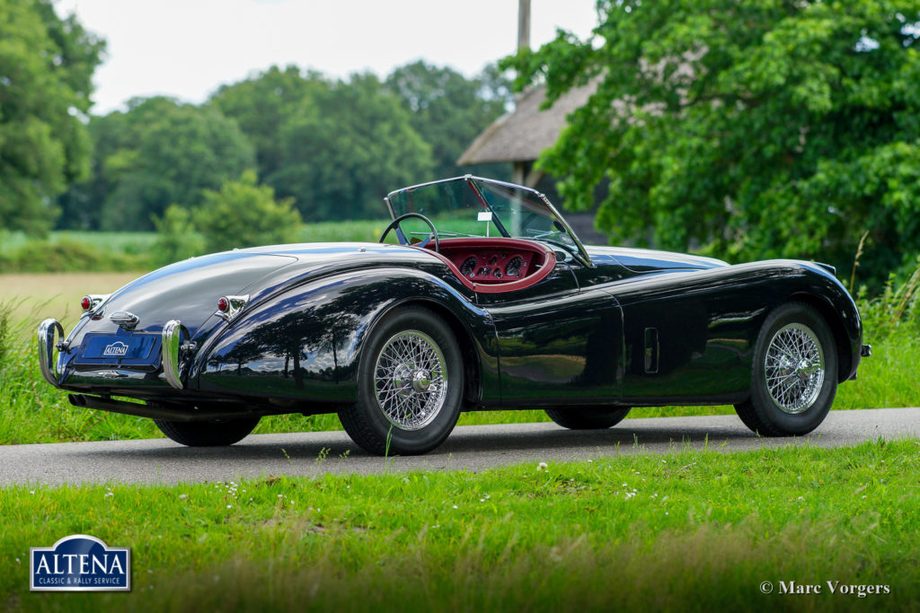 Jaguar XK 120 Roadster, 1954