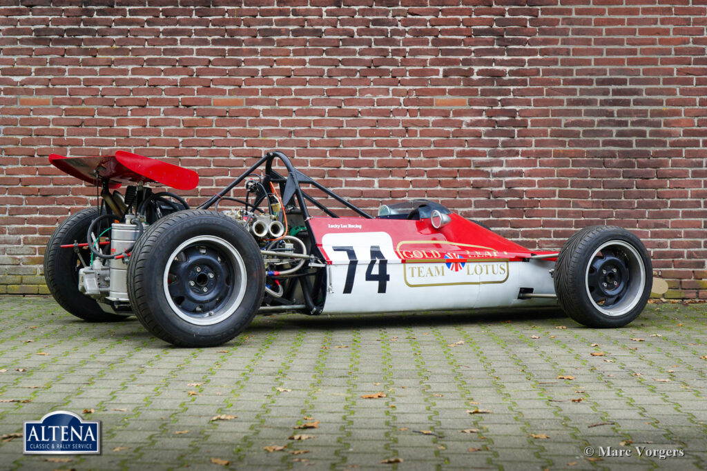 Lotus 7S Race Car, 1970