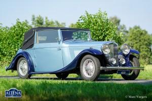 Bentley 4 1/4 DHC, 1937