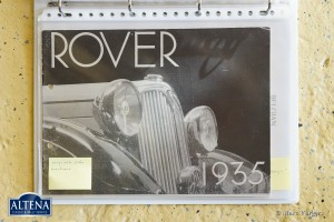 Rover 14HP Streamline saloon
